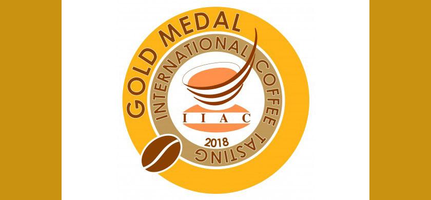 Medalla de oro en la cata internacional de café